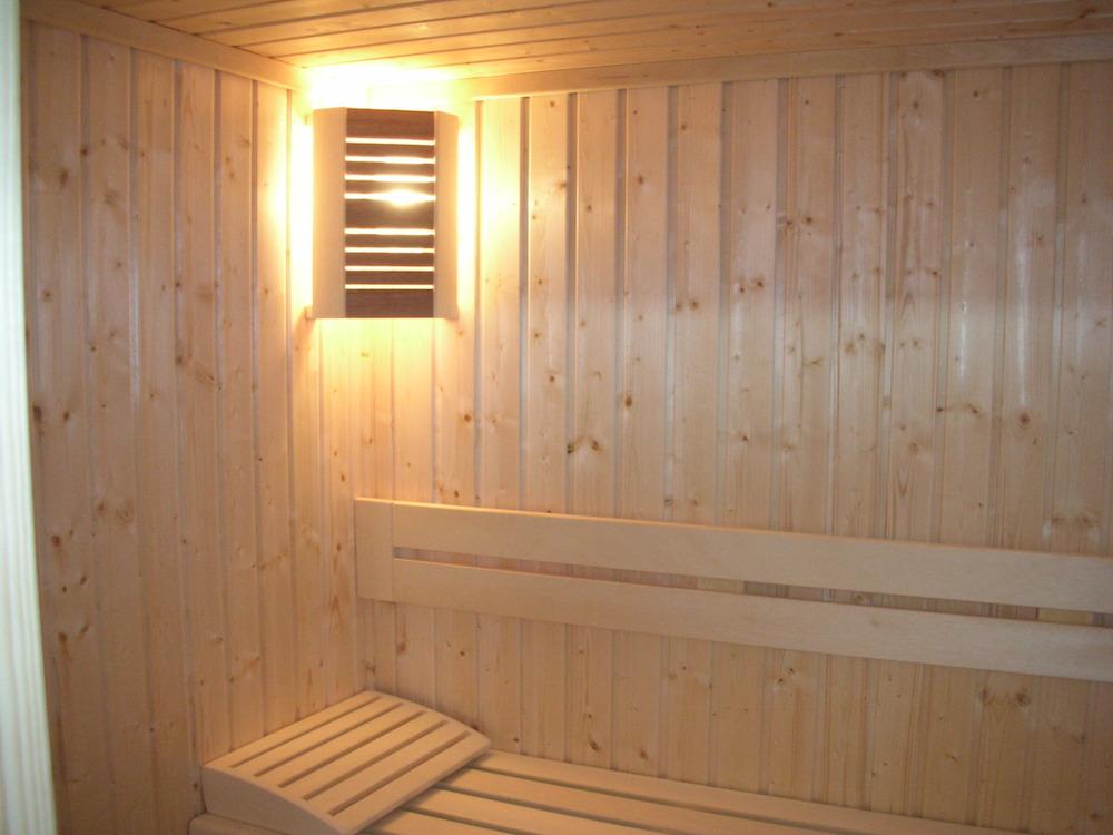 sauna installation in a villa lefkara bautech systems ltd building materials. Black Bedroom Furniture Sets. Home Design Ideas